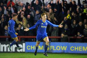 PICTURE GALLERY: AFC Wimbledon U18s give Chelsea a fright on night of FA Youth Cup drama